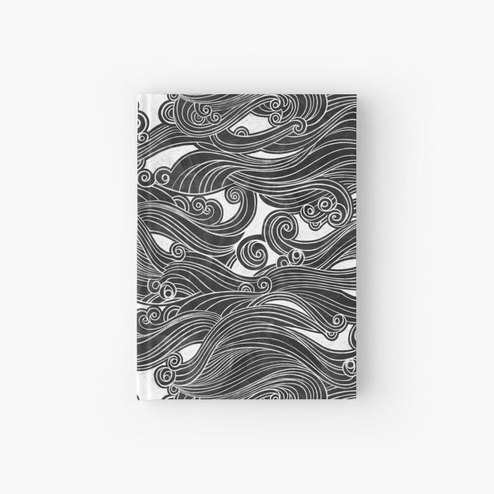 Black Wave Hardcover Journal