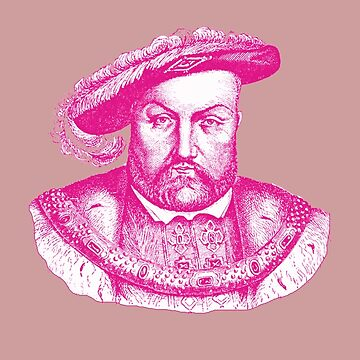 Pink Henry the Eighth VIII by adrienne75