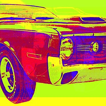psycho-delic muscle car! by adrienne75
