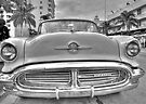 Oldsmobile on South Beach by Bill Wetmore