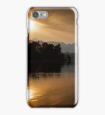 Sunrise at Lake Bled iPhone Case/Skin