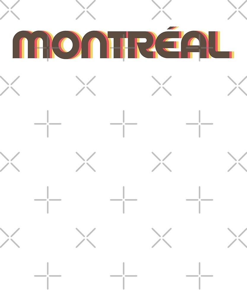 Retro Montreal T-Shirt by designkitsch