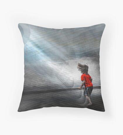 Vibration of Wonder Throw Pillow