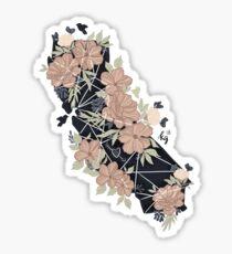 Pegatina Color del amor de california