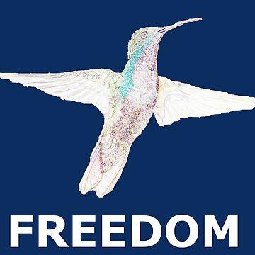 Freedom bird motif by Myriala