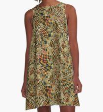 With a Twist A-Line Dress