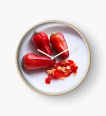 Hot Stuff! Clock