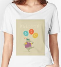 Balloon ABC Women's Relaxed Fit T-Shirt