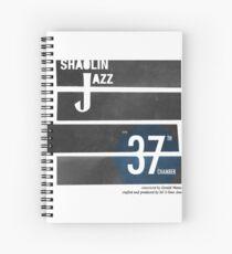 SHAOLIN JAZZ - Bones Spiral Notebook