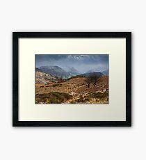 Snowstorm Over Borrowdale Framed Print