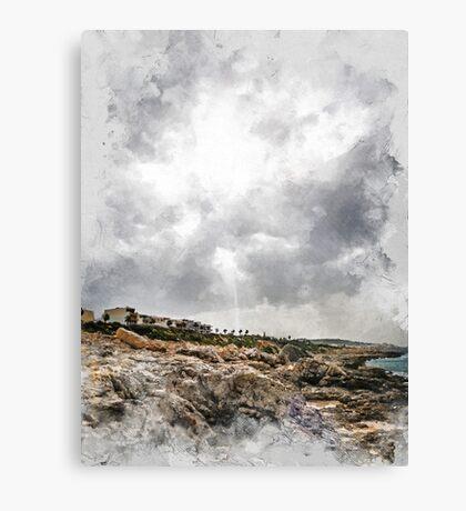 Malta Bugibba #malta  Canvas Print