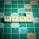Be Mine Scrabble. by eyeshoot
