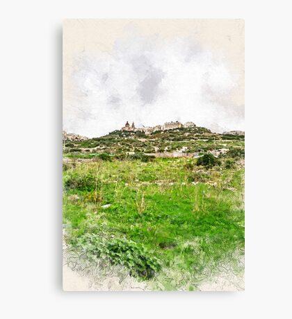 Malta Ghadira #malta Canvas Print