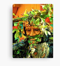 Green Man Canvas Print