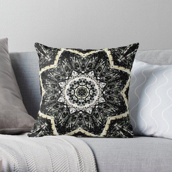 Kaleidoscope Gothic Throw Pillow