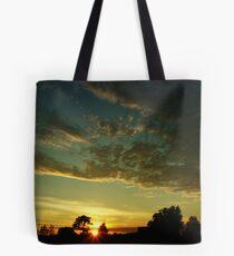 Sunrise scenery Tote Bag