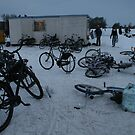 Fresh air, solid ice and a place to leave your bike! by MrJoop