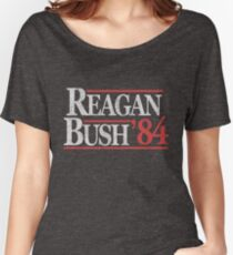 Vintage Reagan Bush 1984 T-Shirt Women's Relaxed Fit T-Shirt