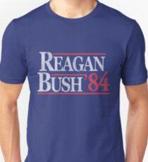 Camiseta ajustada Camiseta Vintage Reagan Bush 1984