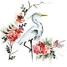 Heron by Siobhan Sands