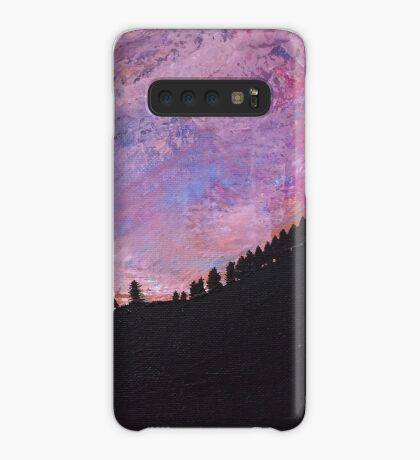 Silhouette Mountain Case/Skin for Samsung Galaxy