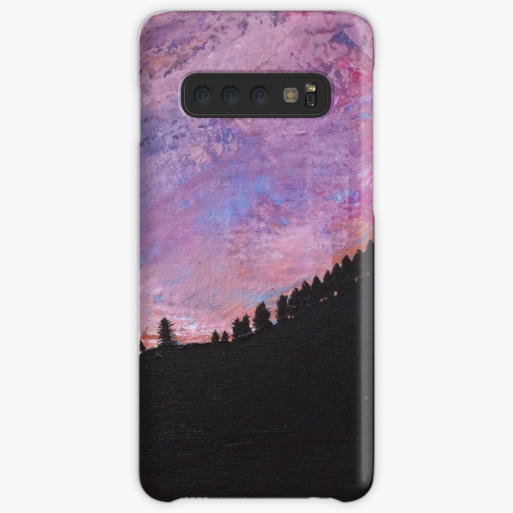 Silhouette Mountain Case & Skin for Samsung Galaxy
