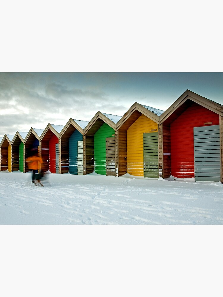Beach huts by tontoshorse