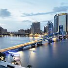 Blue Hour In Jacksonville by Kay Brewer