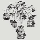 Bird Cage Chandelier by Vivian Lau