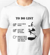 Liste der Aufgaben - Jordan Peterson Slim Fit T-Shirt