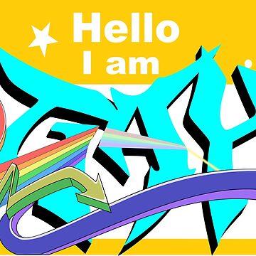 Hello I am gay by moonmorph