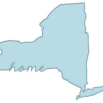 New York Home State Blue by jamiemaher15