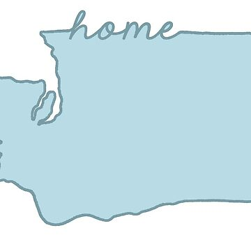 Washington Home State Blue by jamiemaher15
