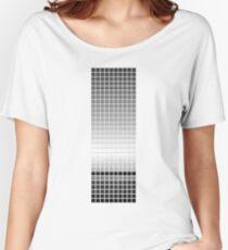 Horizon - Black & White Women's Relaxed Fit T-Shirt