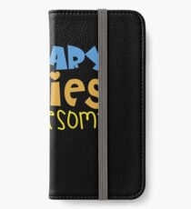 January Babies Are Awesome iPhone Wallet/Case/Skin