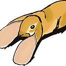 Floppy Rabbit by DitrieMarie