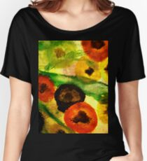 Mixed Poppies Women's Relaxed Fit T-Shirt