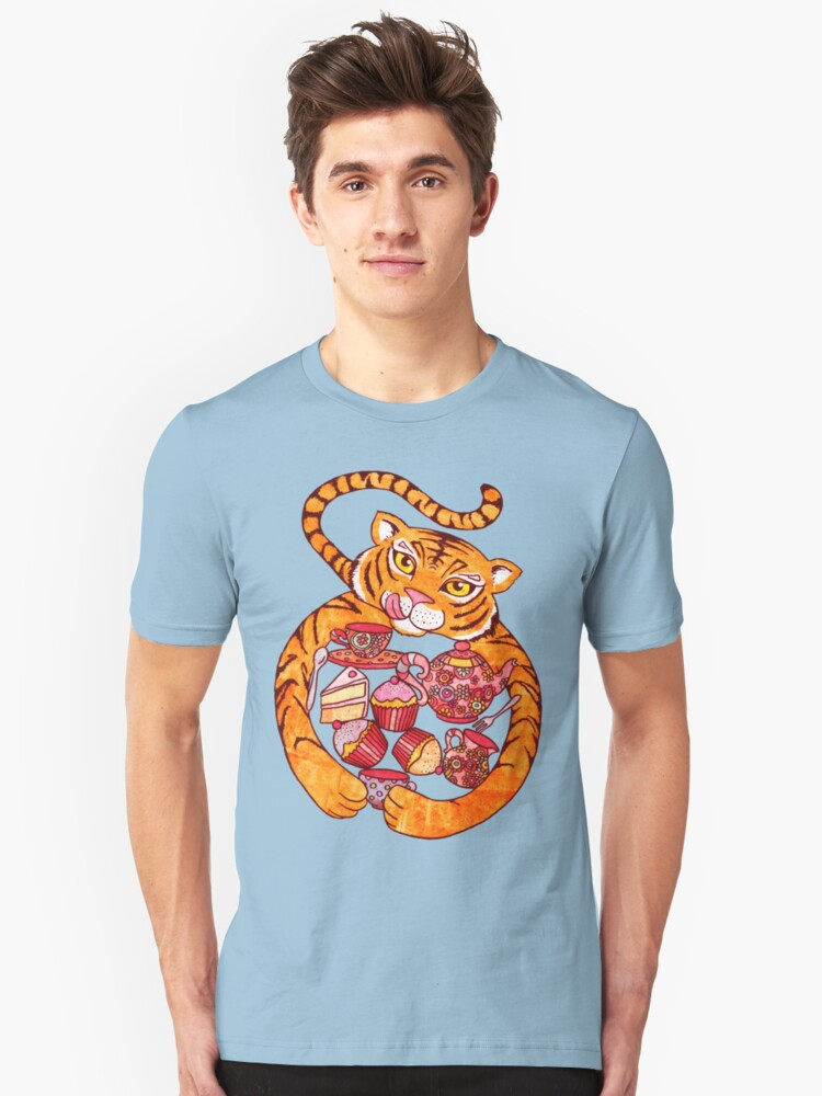 The Tiger Who Came To Tee Unisex T-Shirt Front