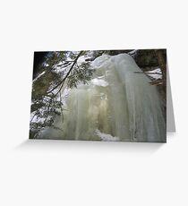 The Big Big Ice Top 4 Greeting Card