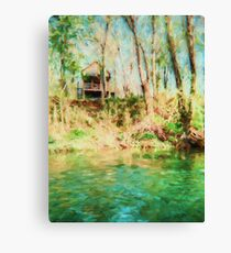 Lake Hideaway - Landscape Canvas Print