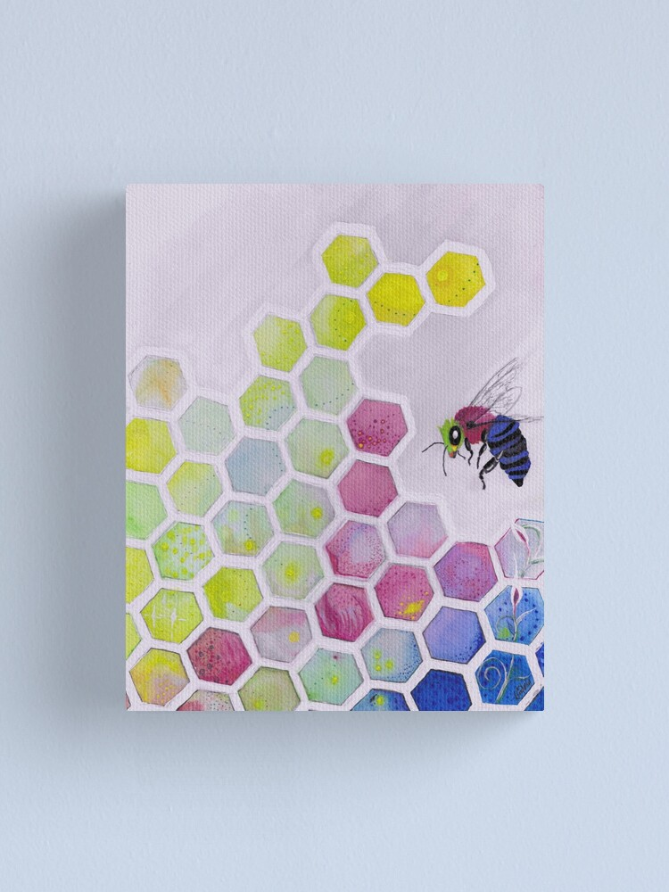 Alternate view of Bee You Canvas Print
