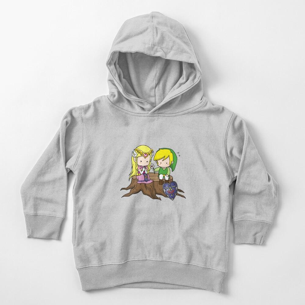 Zelda X Link Sudadera con capucha para bebé