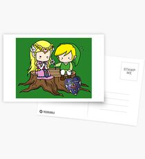 Zelda X Link Cartes postales