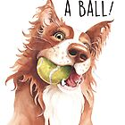 «¡Ten un balon!» de Sarah  Mac Illustration
