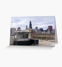 Hot Dog Stand Greeting Card