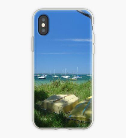 Lazy Summer at Callala Bay iPhone Case