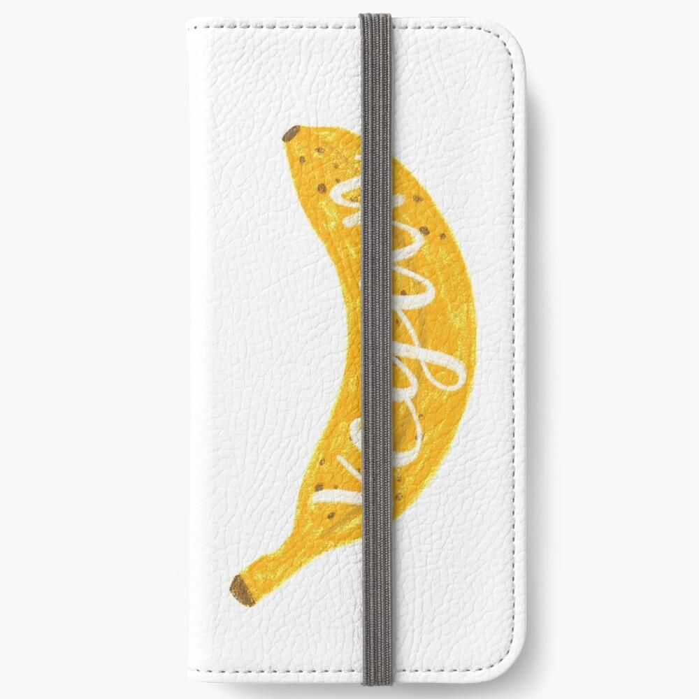 Vegan banana iPhone Wallet