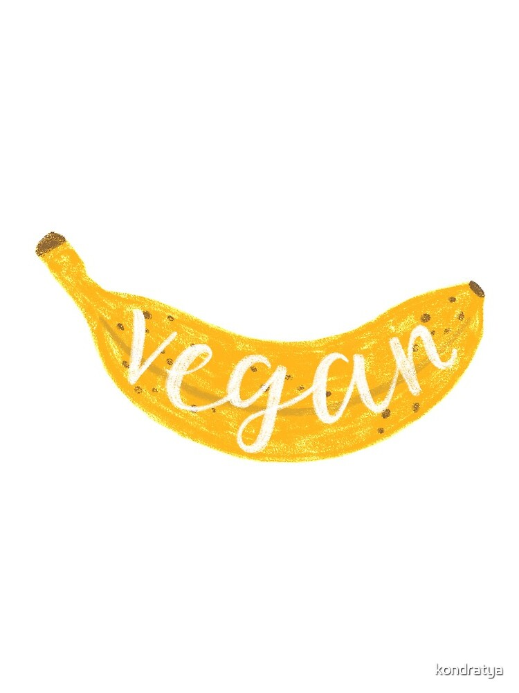 Vegan banana by kondratya