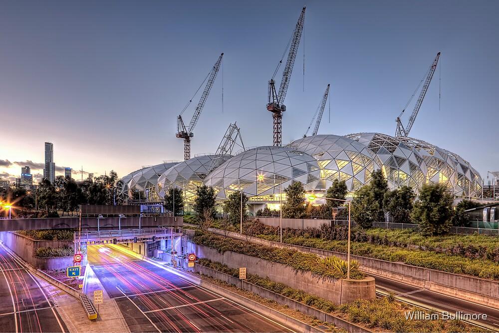 Melbourne Rectangular Stadium • Melbourne • Victoria by William Bullimore