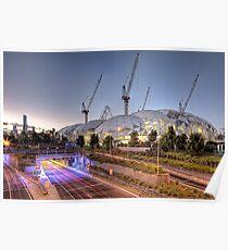 Melbourne Rectangular Stadium • Melbourne • Victoria Poster